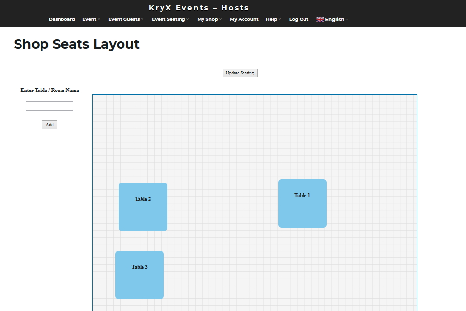 Drag and Drop easy setup your shop layout